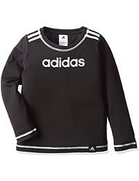 (アディダス) adidas トレーニングウェア リニアロゴ 長袖Tシャツ BVA22 [ガールズ]