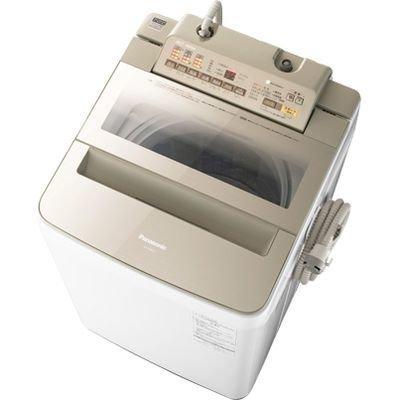 パナソニック 8kg 全自動洗濯機 乾燥2? シャンパン NA-FA80H3-N