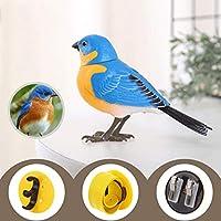 シミュレーションの電気鳥のおもちゃウィルコールザ・アクションウィルコールザ・ボイスコントロール子供ベビー玩具3-6歳頭が口Zhangheを回します W1XX ( Color : 5 )