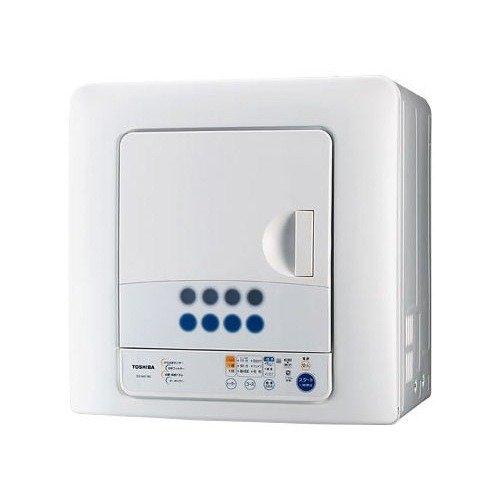 東芝 6.0kg 衣類乾燥機TOSHIBA ED-60C-W