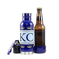 bierskins Kansas City野球スポーツエディションステンレススチールボトルクーラー