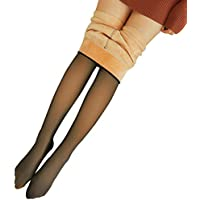 Legs Translucent Warm Fleece Pantyhose Slim Stretchy for Winter Outdoor Women New