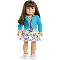American Girl - 2017 Truly Me Doll: Light Skin Brown Hair with Bangs Green Eyes DN19 [並行輸入品]