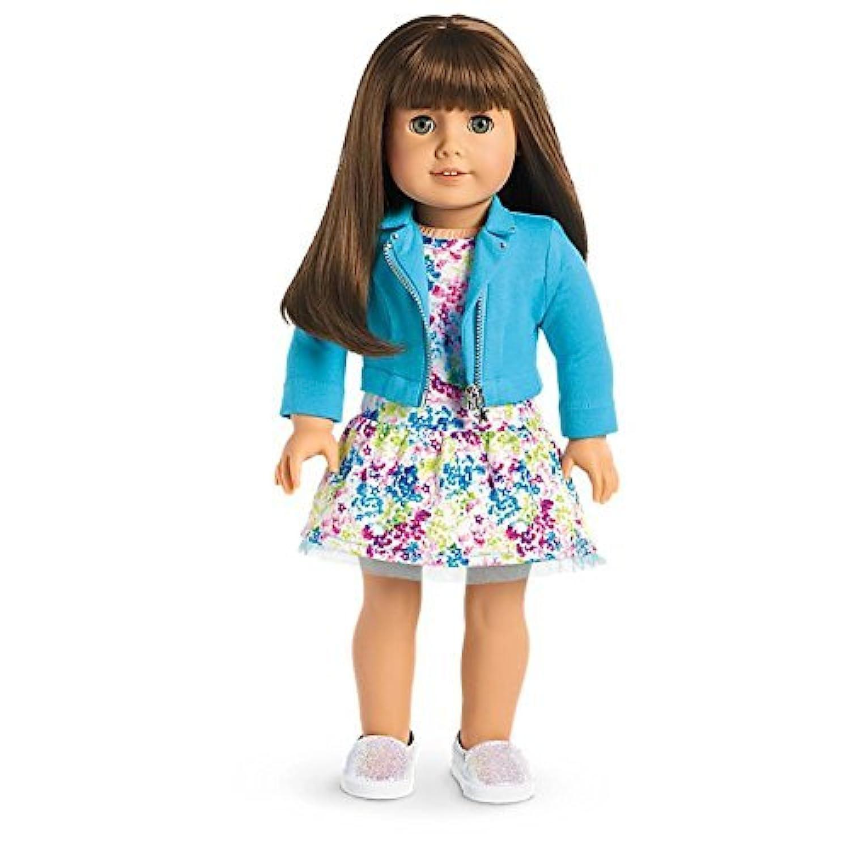 American Girl - 2017 Truly Me Doll: Light Skin Brown Hair with Bangs Green Eyes DN19 [並行輸入品]