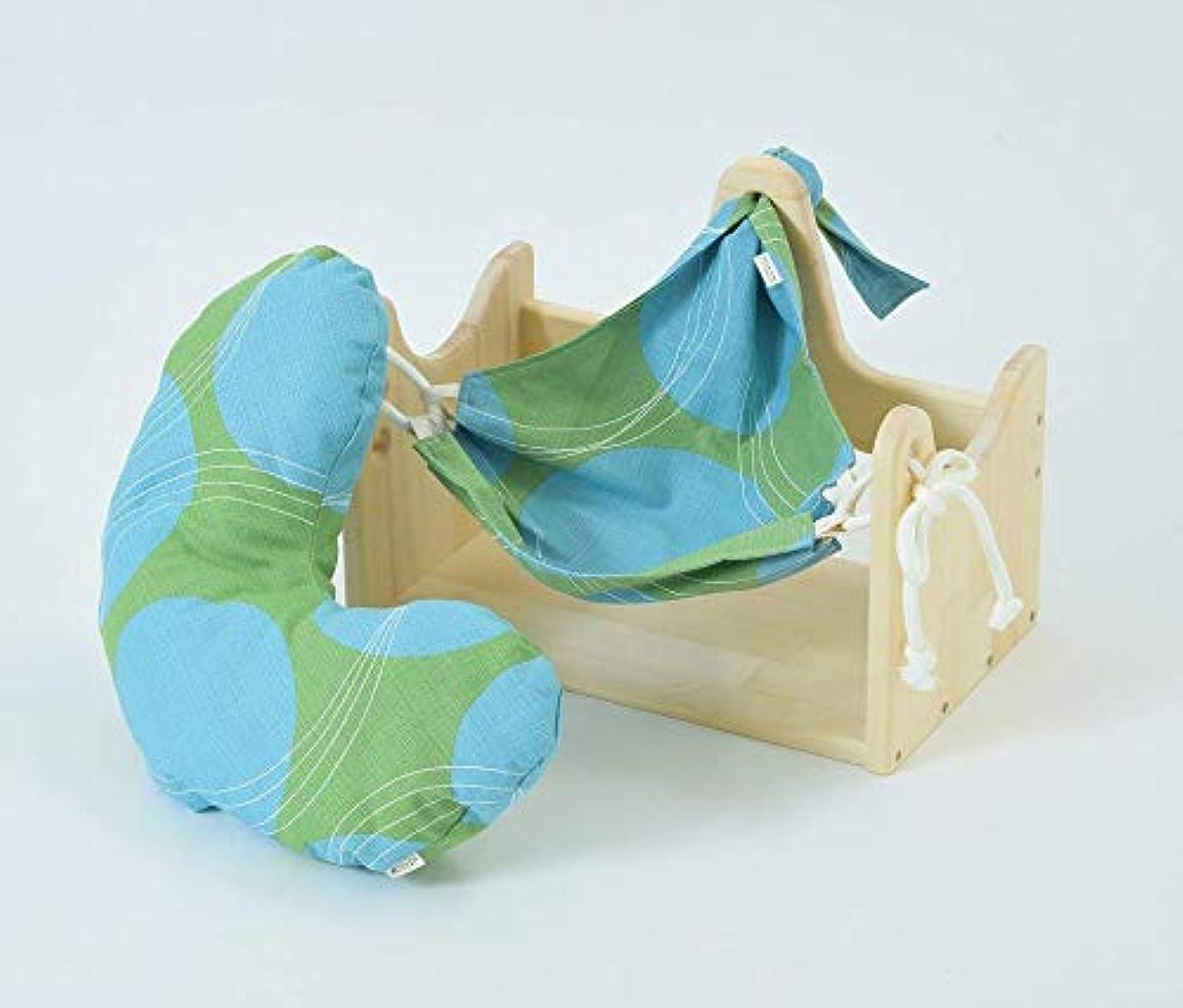 ロマンス散歩に行く視力エムアイストーリー/ハンモックピローα (サークルG) 良質な睡眠のための枕 癒しのまくら 首こり 肩こり ストレス対策