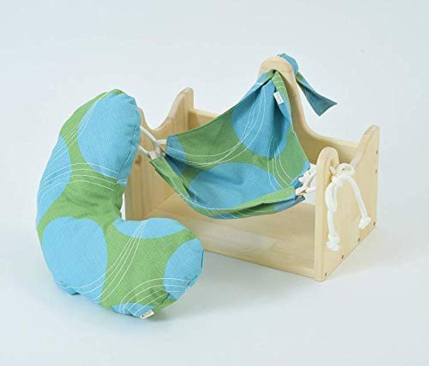 荷物十分に移住するエムアイストーリー/ハンモックピローα (サークルG) 良質な睡眠のための枕 癒しのまくら 首こり 肩こり ストレス対策