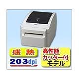 東芝 TEC ラベル バーコード プリンタ B-EV4D-GC27  203dpi 感熱式 高性能カッター付き