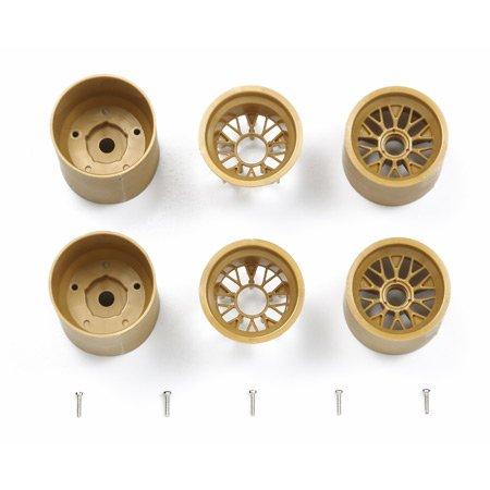 RCスペアパーツ SP.1350 F103 メッシュホイールセット (ゴールド)