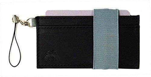 Crabby Wallet L3 ビジネスレザー版 ブラック