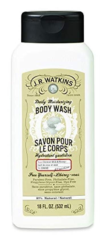 J.R.Watkins(ジェイ?アール?ワトキンス) ボディウォッシュ ココナッツミルク&ハニー 532ml