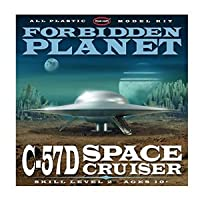 Round 2 Forbidden Planet: C57D Flying Saucer 1:144 Model Kit フィギュア おもちゃ 人形 (並行輸入)