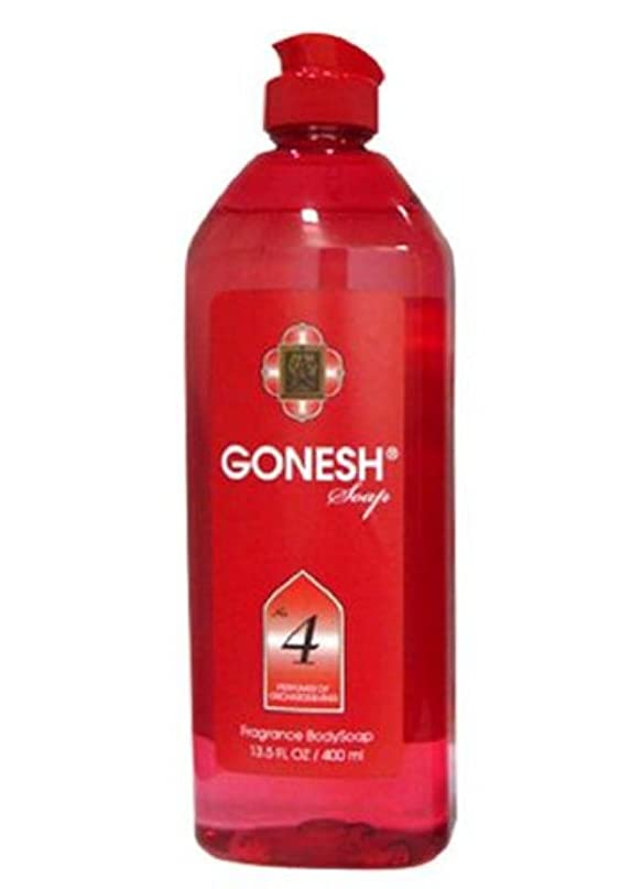 害極貧ビジョンGONESH Body Soap NO.4 400ml