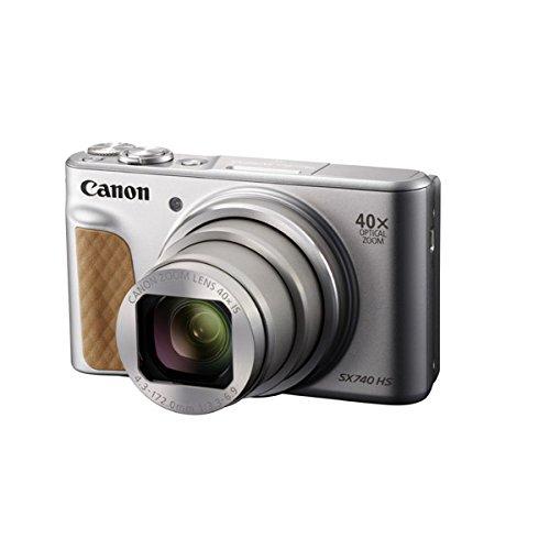 キヤノン デジタルカメラ「PowerShot SX740 HS」(シルバー) PSSX740HSSL
