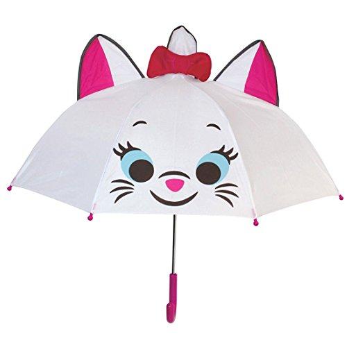 キャラクター 傘 おしゃれキャット ディズニーマリー ポップ 耳付き 47cm 19283
