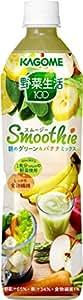 カゴメ 野菜生活100 Smoothie 朝のグリーン&バナナミックス スマートPET 720ml×15本