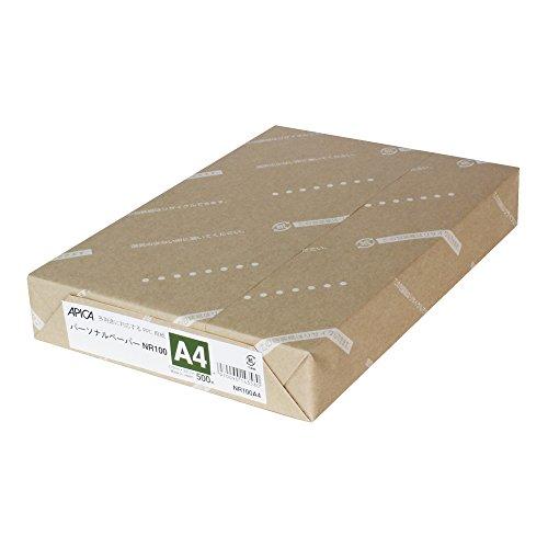 アピカ PPC用紙 パーソナルペーパー A4 500枚 NR...