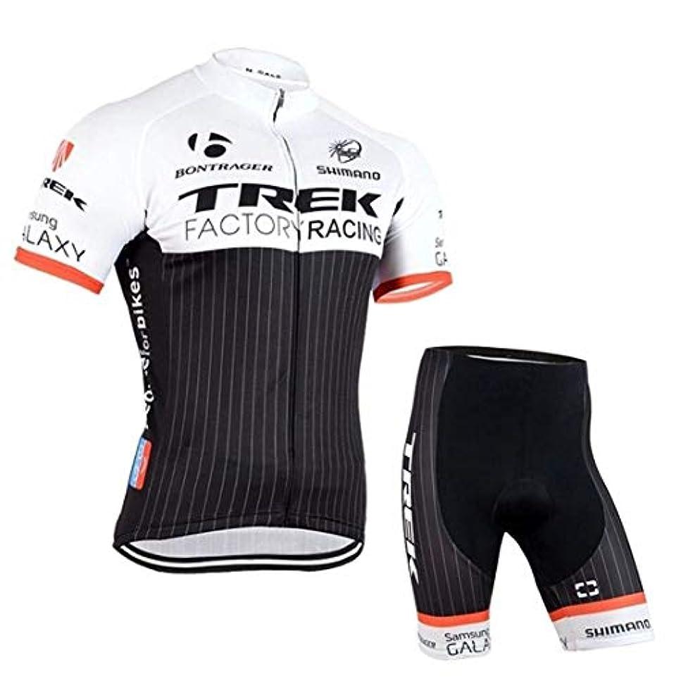 哀れなチューインガム強いますCycleJersey 半袖 サイクルジャージ 上下セット 自転車ウエア 半袖 スポーツ ウェア メンズ レディーズ サイクリング ビブパンツ 速乾吸汗 S-XXXL