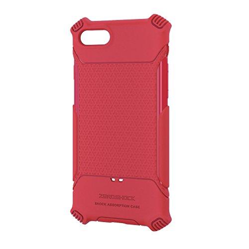 エレコム iPhone7 / アイフォン7 衝撃吸収ケース グリップ レッド PMWA16MHVGRD
