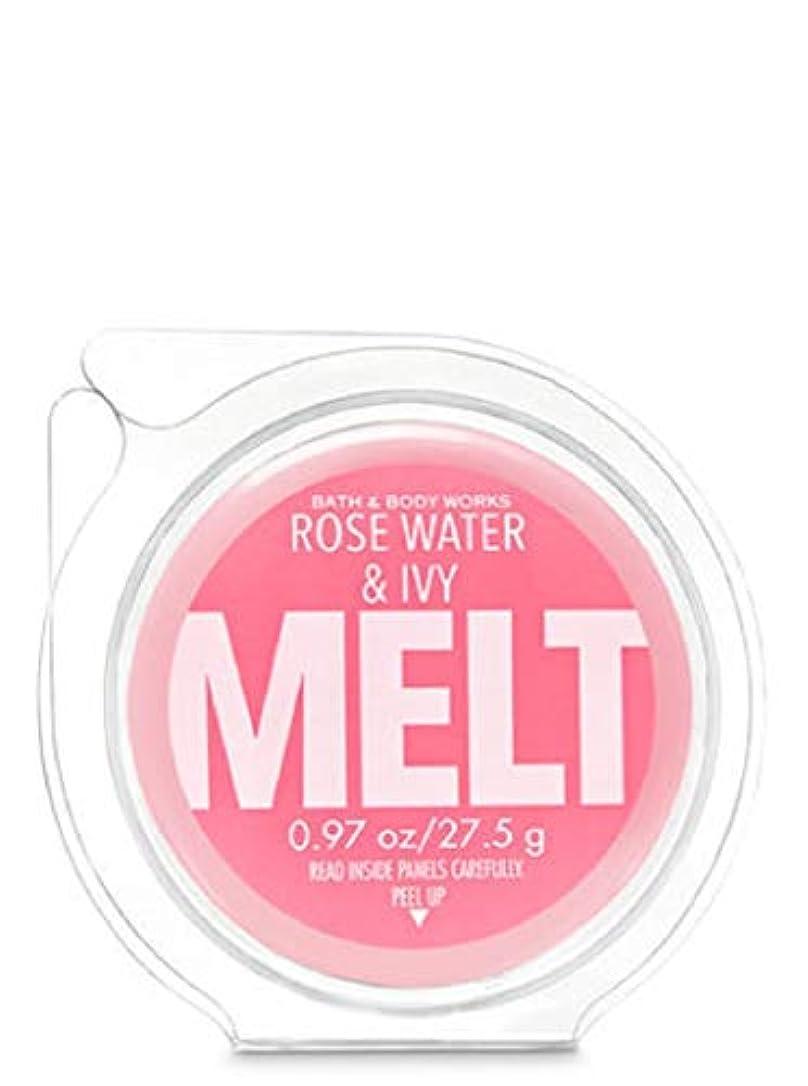 完璧な周辺前方へ【Bath&Body Works/バス&ボディワークス】 フレグランスメルト タルト ワックスポプリ ローズウォーター&アイビー Wax Fragrance Melt Rose Water & Ivy 0.97oz /...