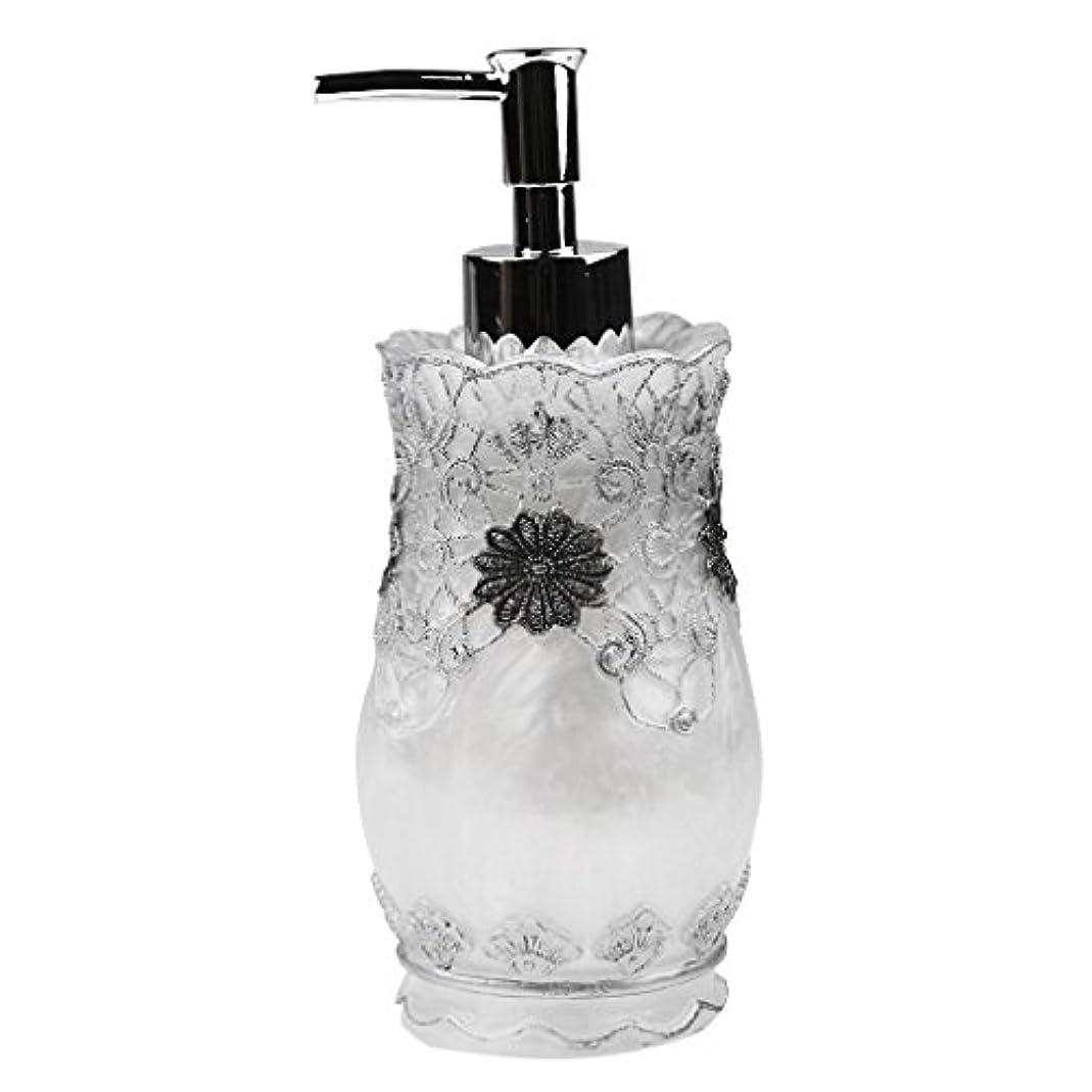 抜け目のないレーザペンス空 詰め替え ポンプ 瓶 シャンプー ボディークレンザー 液体石鹸などローション適用 全4種類 - #2