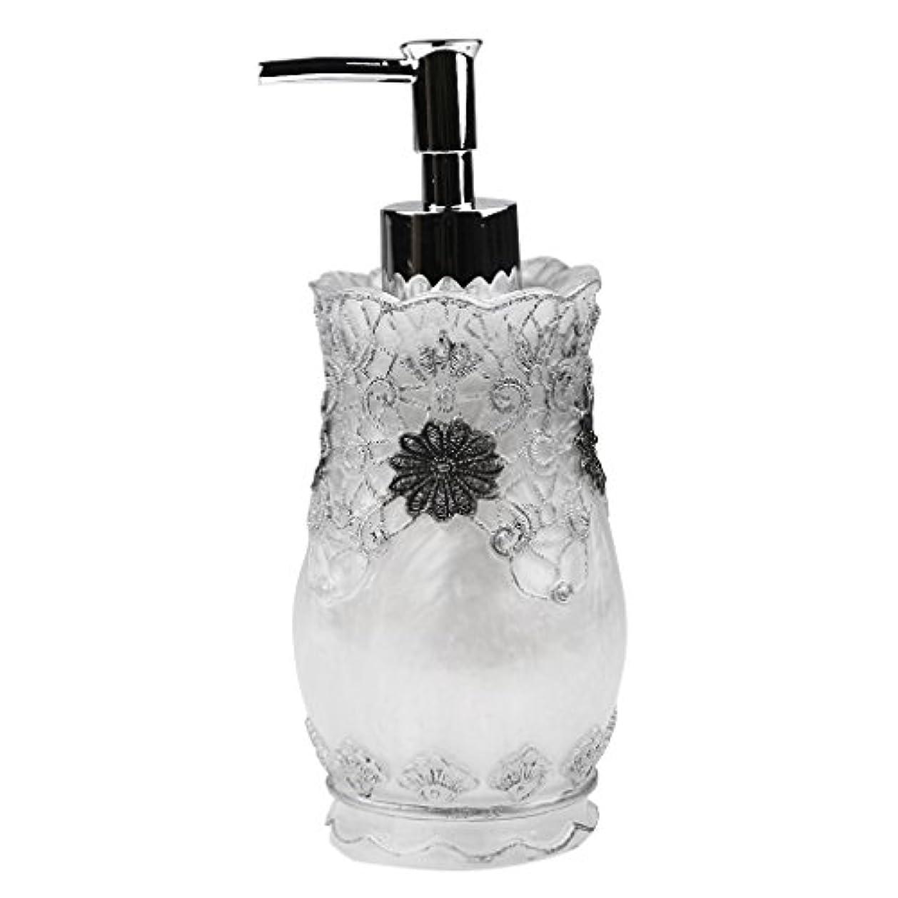 Flameer シャンプー ボディークレンザー 液体石鹸などローション適用 詰め替え 高品質 樹脂 空 ポンプ瓶 全4種類  - #2