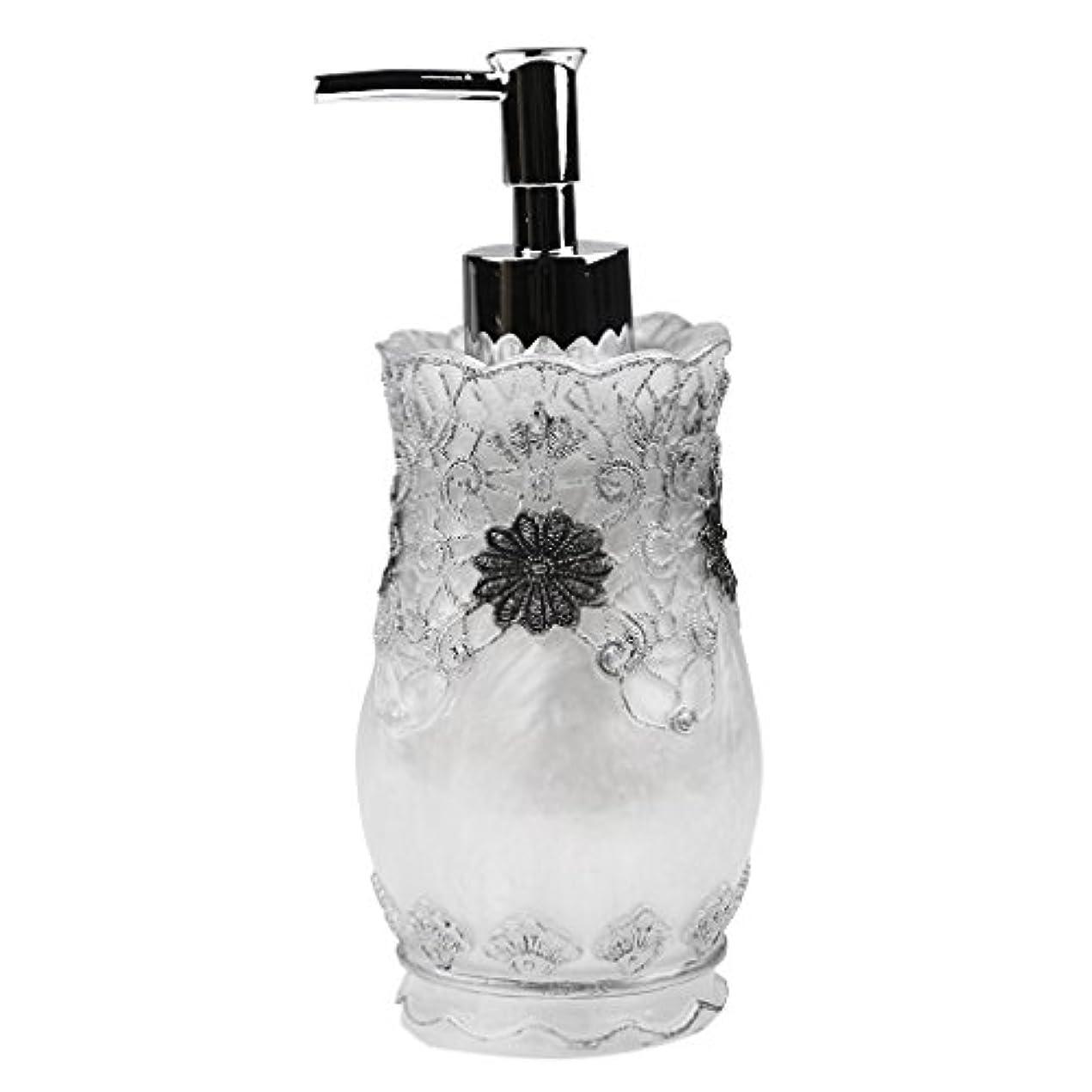 パートナー重要ディスカウントFlameer シャンプー ボディークレンザー 液体石鹸などローション適用 詰め替え 高品質 樹脂 空 ポンプ瓶 全4種類  - #2