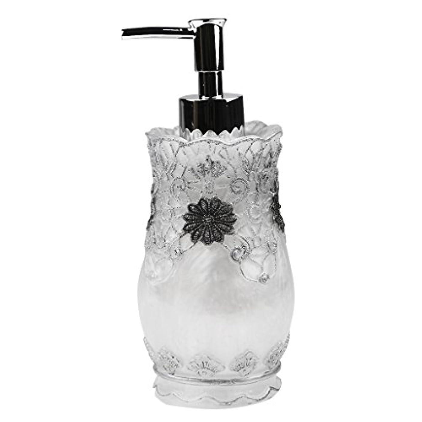 しかし事前に新年Flameer シャンプー ボディークレンザー 液体石鹸などローション適用 詰め替え 高品質 樹脂 空 ポンプ瓶 全4種類  - #2
