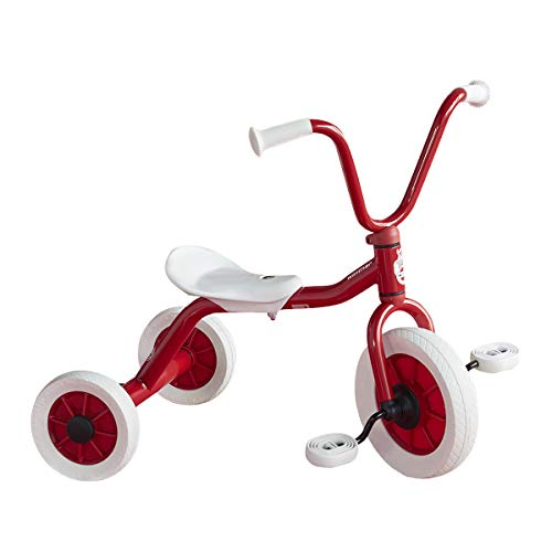 ボーネルンド ペリカンデザイン三輪車 Vハンドル 赤 WI41400