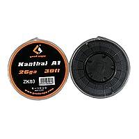 Geekvape Kanthal A1 ワイヤー RBA DIY 電子たばこ交換コイル 26AWG