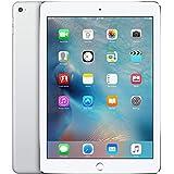 Apple iPad Air 2 64GB WiFi + Cellular Silver (Renewed)