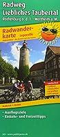 Radweg Liebliches Taubertal, Rothenburg o.d.T. - Wertheim a. M. 1 : 50 000: Radtourenkarte mit Ausflugszielen, Einkehr- & Freizeittipps, wetterfest, reissfest, abwischbar, GPS-genau. 1:50000