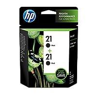 新しいHP 21ブラック小売ツインパック(printers-インクジェット/ドットマトリックス)