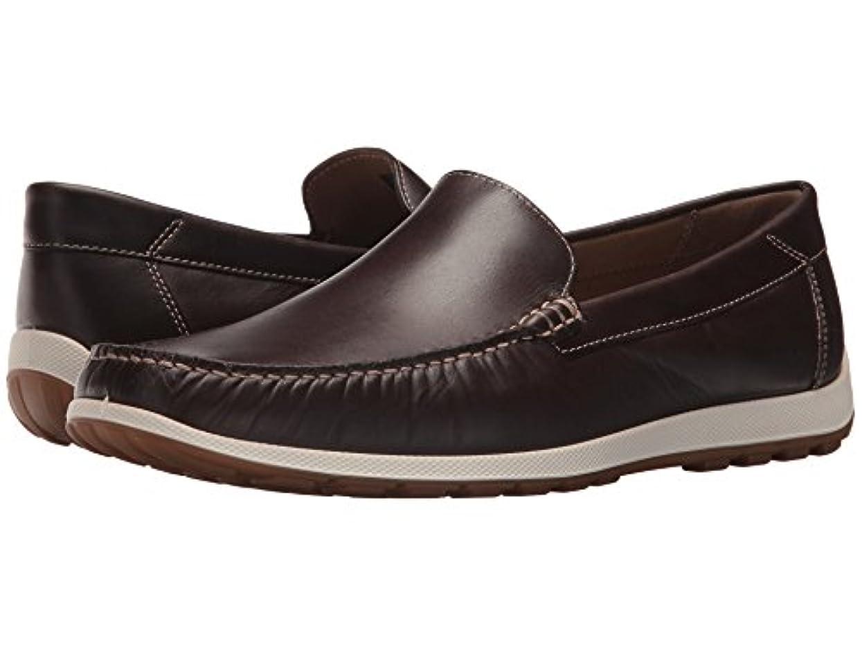 広告拷問単位[ecco(エコー)] メンズローファー?スリッポン?靴 Dip Moc Mocha EU44 (US Men's 10-10.5) (28cm) M
