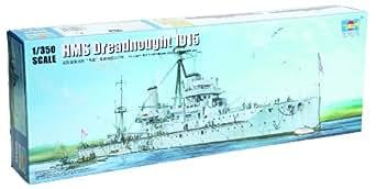 トランペッター 1/350 イギリス海軍戦艦 HMS ドレッドノート 1915