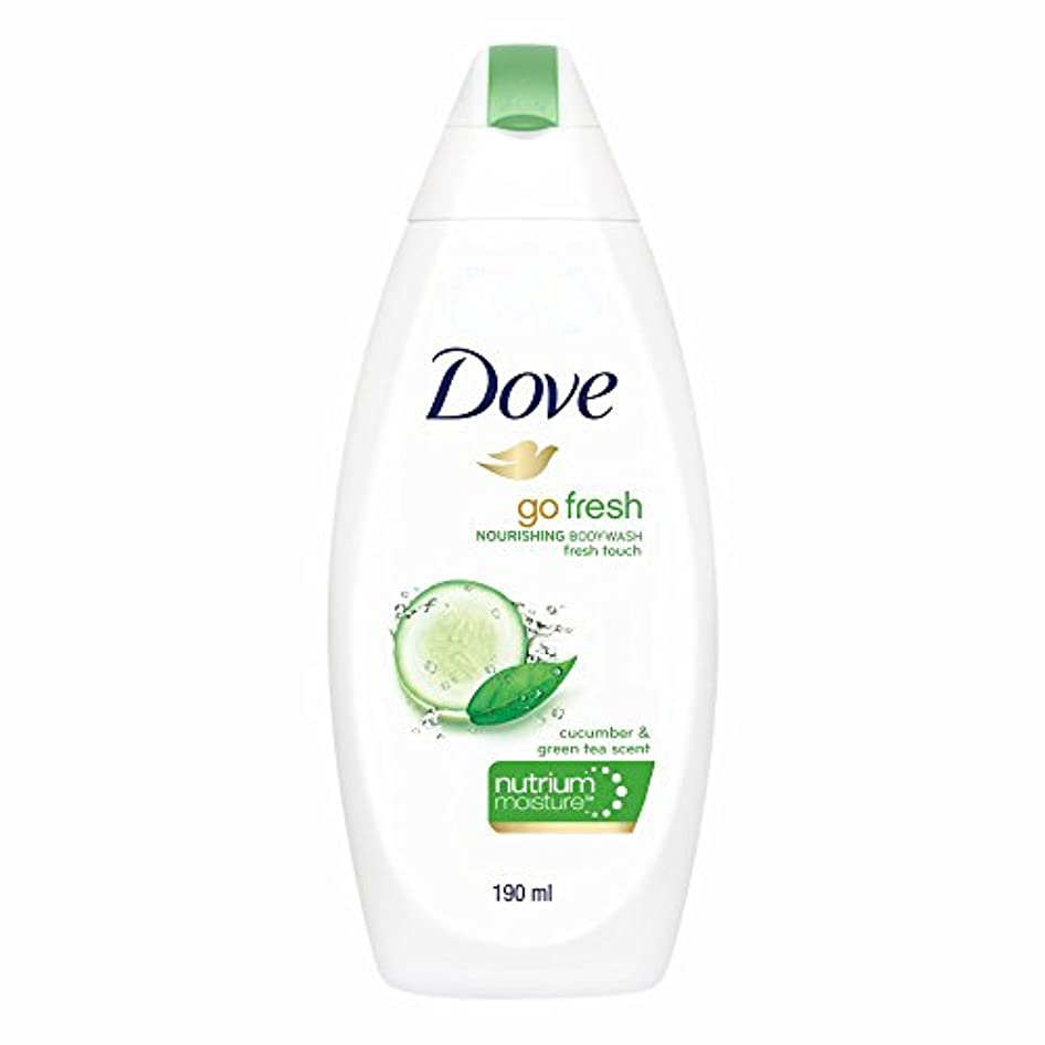 価値表示スプーンDove Go Fresh Nourishing Refreshing Cucumber And Green Tea Body Wash, 190ml