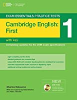Exam Essentials: Cambridge First Practice Tests 1 w/key + DVD-ROM (Exam Essentials Practice Tests) by Charles Osbourne Helen Chilton Helen Tiliouine(2014-03-07)
