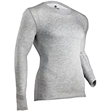 Indera Men's Tall Two-Layer Performance Thermal Underwear Top with Silvadur