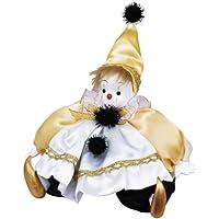 ピエロ オルゴールドール 「スウィートペピ」 とんがり帽子:イエロー (オルゴール曲目:星に願いを)