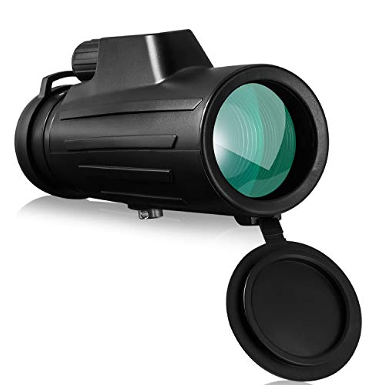 鍔無条件カリングOMZER 単眼鏡 10x42 高倍率 10倍 42口径 軽量 BAK4 FMC プリズム 防水防塵 コンサート スポーツ観戦 登山 旅行 運動会 夜景
