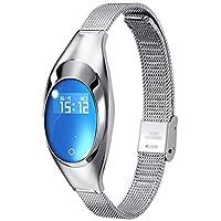 KTYX スマートなブレスレット女性のスポーツジュエリーウォッチ監視心拍数血圧睡眠多機能Bluetooth歩数計アダプタウォッチ スマートウォッチ