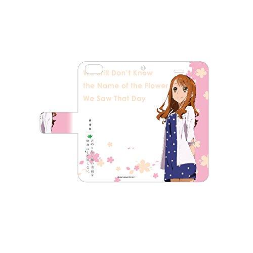 手帳型スマホケース iPhone5/5s/SE専用 劇場版 あの日見た花の名前を僕達はまだ知らない。 01/安城鳴子