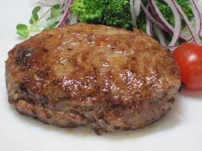 あか牛ハンバーグ (冷凍) 120g×8個×1セット 阿蘇おふくろ工房 添加物・着色料不使用 熊本県産あか牛肉を100%使用した手作りハンバーグ あか牛肉の味を楽しめる粗挽き仕様