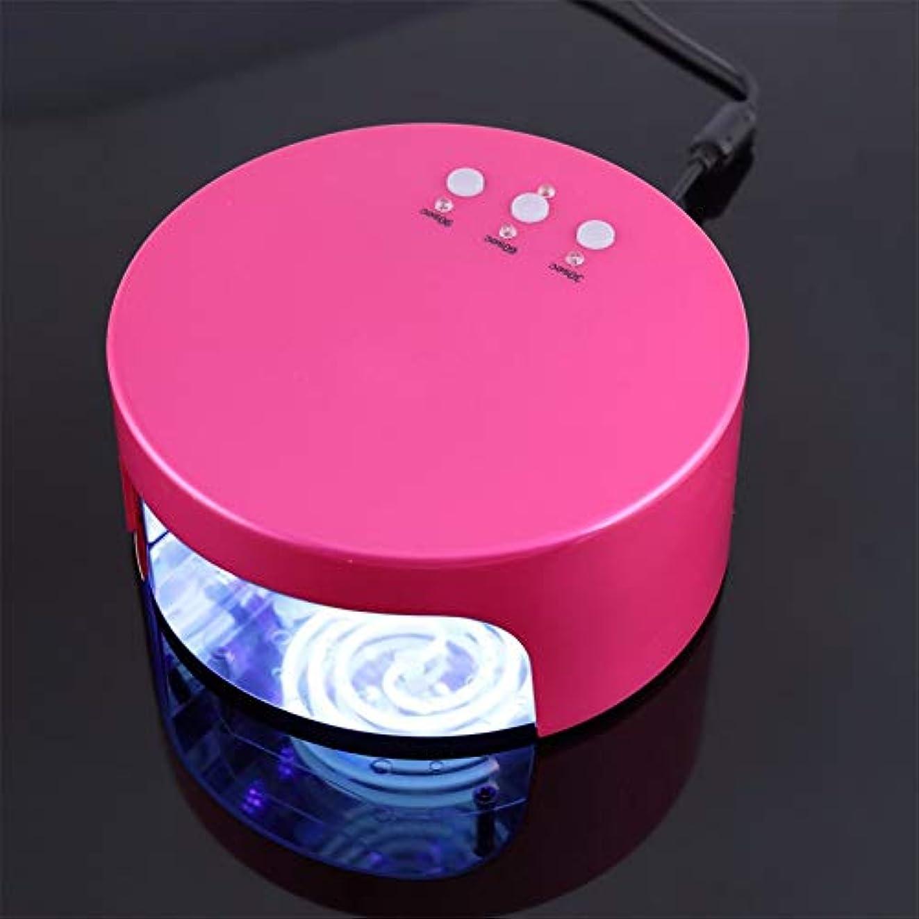 遠近法章はしご36 w Led使用LEDネイルドライヤーCCFLゲル硬化UVランプネイルライトマシン強力なネイルアートドライヤーEUプラグ