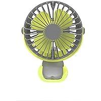 SHANGRUIYUAN-Mini Fan Multifunction 360 Degree All-Round Rotation Fan Rechargeable 4000mAh Cooler Cooling Mini USB Fan 4 Speed USB Desktop Clip Fan