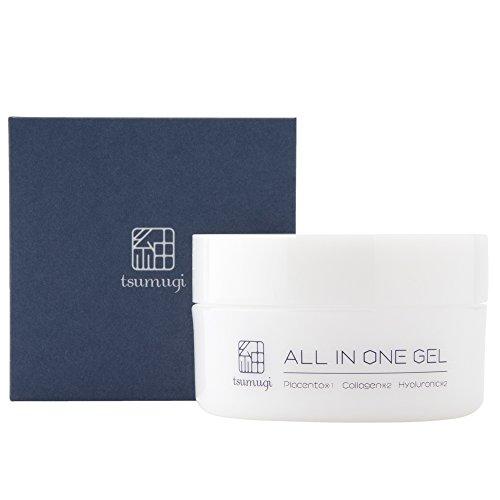 【薬用】 紬 メンズ オールインワンゲル(無添加) プラセンタがシミ・そばかすを美白 (化粧水代わりに使える)