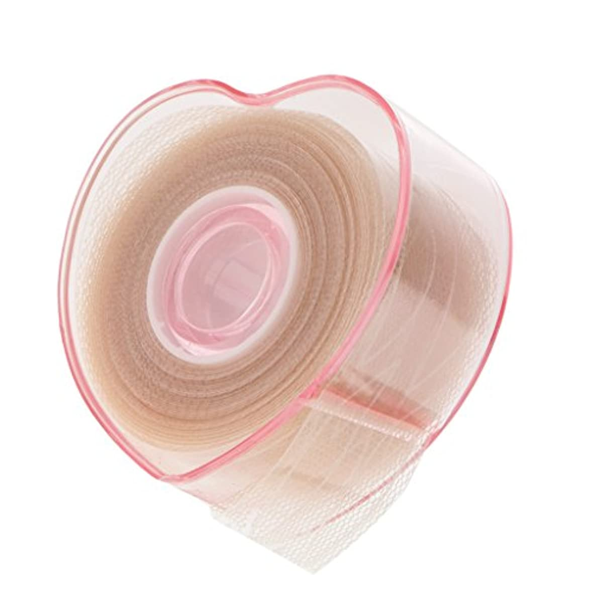 アイドル浮浪者砂漠Toygogo 二重まぶたロール まつ毛テープ まつ毛ロール レース メッシュ 粘着性なし メイクアップ 4タイプ選べる - C
