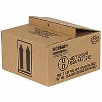 Aviditi HAZCO4Q 4-1 Quart Haz Mat Boxes 9 7/16 x 9 7/16 x 5 (Pack of 25) [並行輸入品]