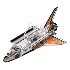 青島文化教材社 スカイネット 立体パズル 4D VISION ビークルカットモデル No.01 1/72 スペースシャトル