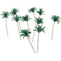 20個入り モデルツリー 樹木 パームツリー 木 鉢植え用 鉄道模型 風景 モデル トレス 情景コレクション ジオラマ 建築模型 電車模型 HO OOスケール 10cm