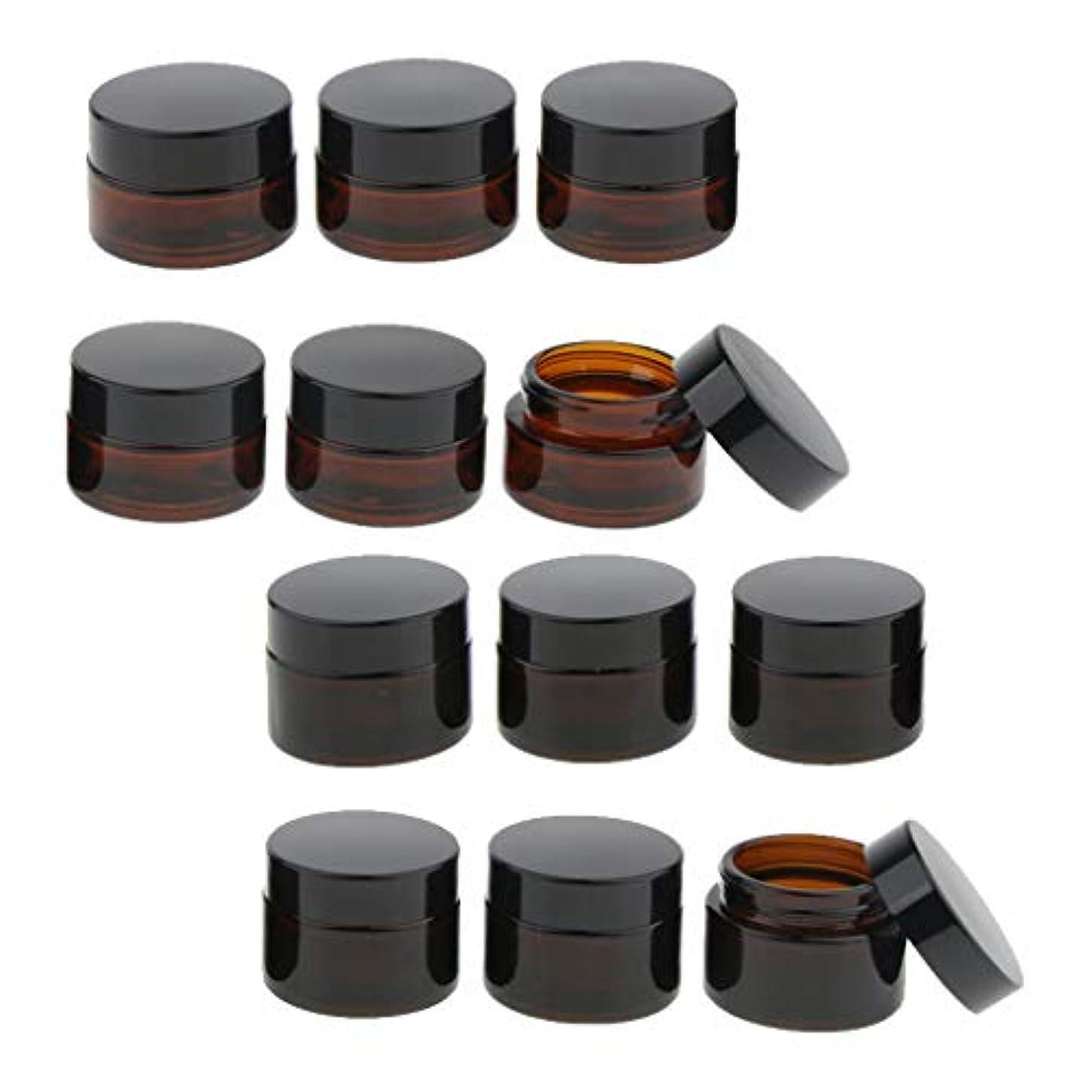 密輸変換膨らみD DOLITY 12個 メイクアップボトル ガラス瓶 コスメ 詰替え容器 15mlと20ml 旅行小物